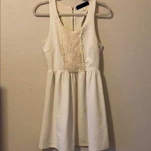 White Racerback Dress
